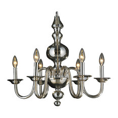 crystal lighting palace murano venetian italian 6 light blown glass golden teak chandelier chandelier modern italy blown glass