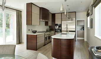 Richmond Indian Rosewood and Painted Modern Kitchen