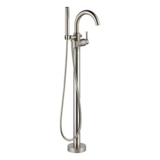 Delta T4759-FL Trinsic Floor Mounted Tub Filler for - Brilliance Stainless