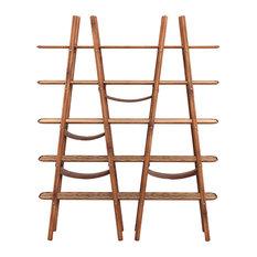 Blake Walnut Ladder Display Shelf