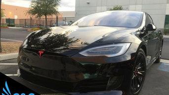 Tesla Vinyl Wrap Orange County