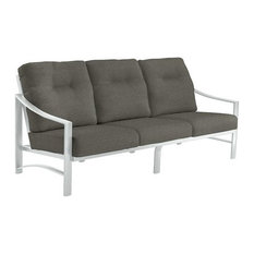 Kenzo Cushion Sofa, Snow Frame, Carbon Cushion