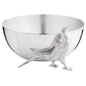 Highland Safari Medium Silver Bowl