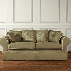 landhausstil sofas couches houzz. Black Bedroom Furniture Sets. Home Design Ideas