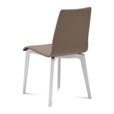 Domitalia Jude-L Chair Taupe And White JUDE.S.LSF.LBOS.7JI Set Of 2
