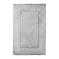 Eclisarre Egyptian Cotton Bath Rugs, Anthracite, Medium