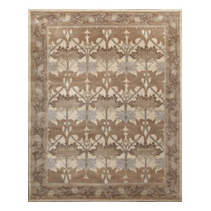 Rugsville   Rugsville Arts And Crafts Neutral Wool 12119 Rug 8x10   Area  Rugs