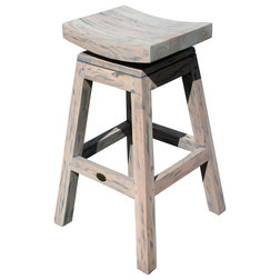 Farmhouse Bar Stools And Counter Stools by Chic Teak