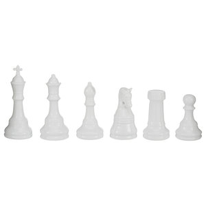 Chess Statues, 6-Piece Set