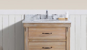 Up to 50% Off Rustic and Farmhouse Vanities