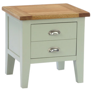 1-Drawer Lamp Table, French Grey