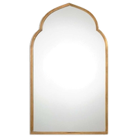 Beaumont Lane Gold Arch Wall Mirror