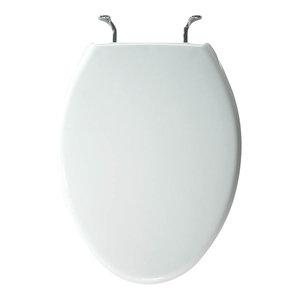 Excellent Bemis 3155Ssct 000 Plastic Elongated Toilet Seat White Short Links Chair Design For Home Short Linksinfo