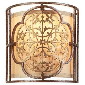 1-Light Wall Light, British Bronze-Oxidised Bronze