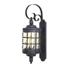 Minka Aire - 2 Light Wall Mount in Spanish Iron Finish - Outdoor Wall Lights and  sc 1 st  Houzz & Spanish-Style Lighting   Houzz azcodes.com