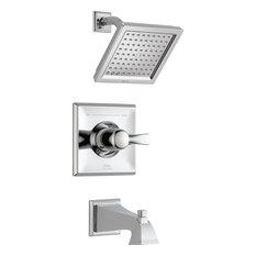 Delta Dryden Monitor 14 Series Tub & Shower Trim, Chrome, T14451