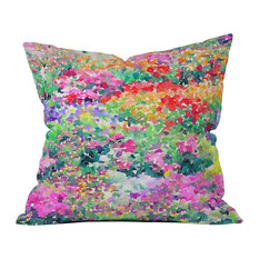 Jacqueline Maldonado Secret Garden 1 Outdoor Throw Pillow