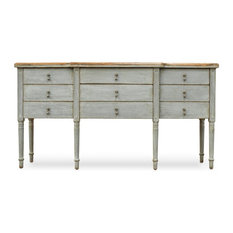 Sideboard, French, Distressed Gray
