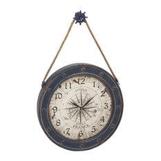 Beach Style Wall Clocks Houzz