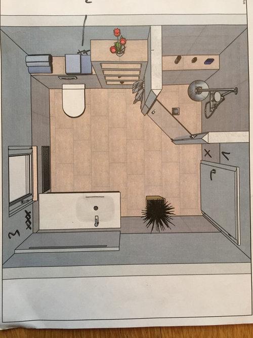 Badaufteilung