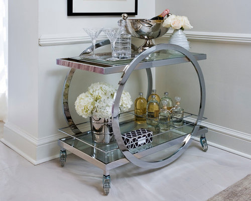 10 contemporary food trolley home design design ideas remodel pictures houzz - Deco bar design ...