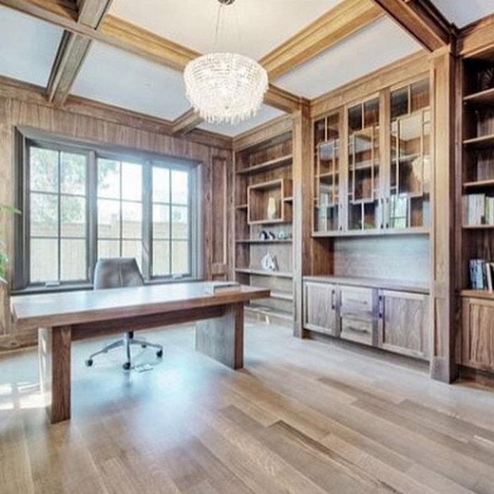 Walnut Home Office
