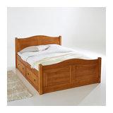 Кровать с 4 ящиками из массива сосны Authentic Style LA REDOUTE INTERIEURS