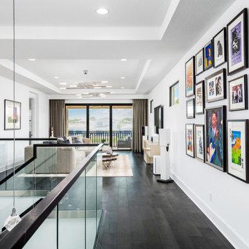 Sleek Metallic Contemporary Golf Residence