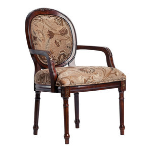Stockton Occasional Chair Antique Oak Traditional