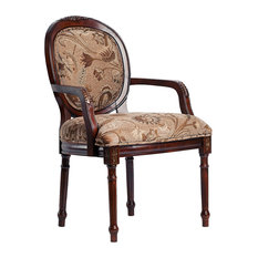 Belmont Round Back Accent Chair