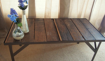 Industrial chic coffee table - design your own, ships free