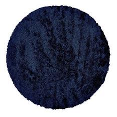 Freya Rug, Dark Blue, 10' Round