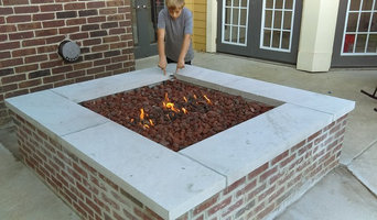 New fire pit at Sterling Place Apartments