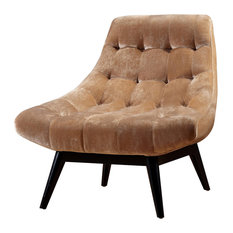 Living Karl Accent Chair, Champagne