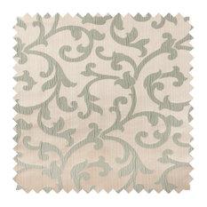 Deluxe Roman Shades Plain Fold, 28Wx62H Bermuda Sage