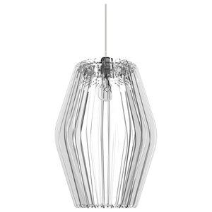 Rombo Lamp, Transparent Plexiglass