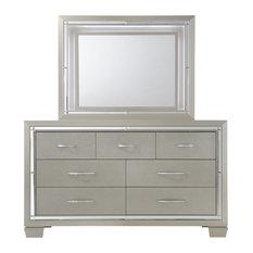 Glamour Dresser and Mirror