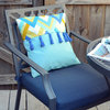 DIY: Make a Colorful Outdoor Tassel Pillow