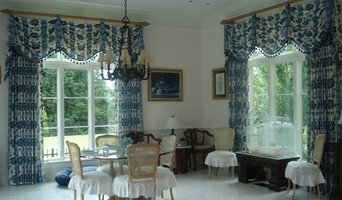 Country French Custom Draperies & Valance
