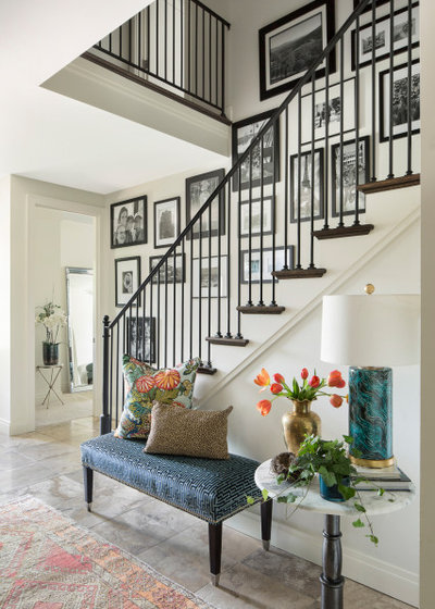 Traditional Entry by Laura Lee Home