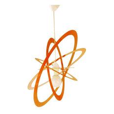Orbita Pendant Lamp, Orange