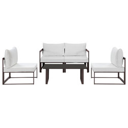 Perfect Contemporary Outdoor Lounge Sets by Furniture East Inc