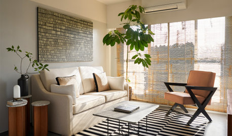 Mumbai Houzz: A Chic, 645-Sq-Ft Home Designed For Two Couples