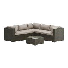 Sino Wicker Sofa Set