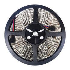"24V 5050 Color Changing 16"" RGB Super Bright LED Strip Light 150 LED, Reel Kit"