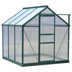 Contemporary Greenhouses by Aosom