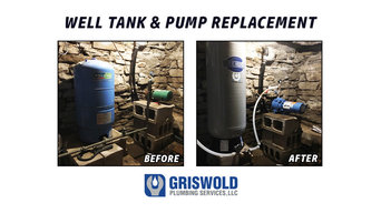 Well Pump & Tank Replacement Before & After