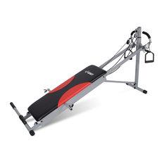 Indoor Fitness Exercise Folding Machine, Gray