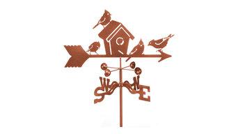 Birdhouse Garden Style Weathervanes