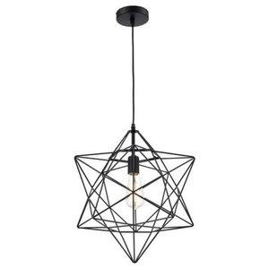 Ohr Lighting Star Gift Pendant Light, Black
